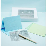 Martha Stewart Crafts - Dry Embossing Starter Kit - 10 Piece Set