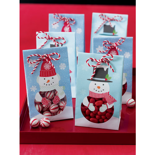 Martha Stewart Crafts - Christmas - Treat Bags - Winter Wonderland