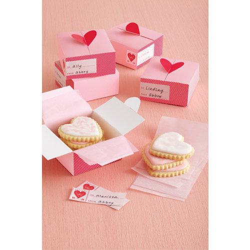 Martha Stewart Crafts - Valentine - Treat Boxes - Heart