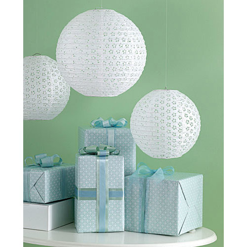 Martha Stewart Crafts - Celebrate Collection - Eyelet Lantern - White