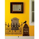 Martha Stewart Crafts - Halloween - Wall Clings - Graveyard