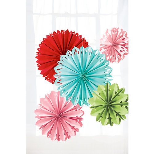 Martha Stewart Crafts - Modern Festive Collection - Hanging Paper Flowers