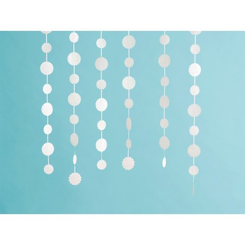 Martha Stewart Crafts - Doily Lace Collection - Glittered Dot Garland