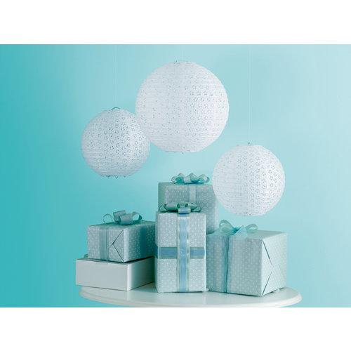 Martha Stewart Crafts - Doily Lace Collection - Eyelet Lanterns - White