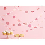 Martha Stewart Crafts - Vintage Girl Collection - Glittered Dot Garland - Pink