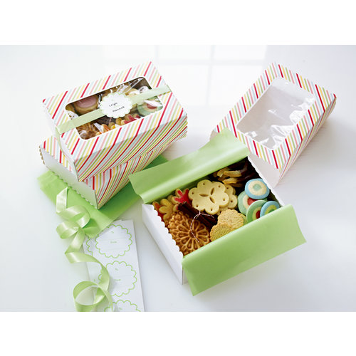 Martha Stewart Crafts - Modern Festive Collection - Treat Match Boxes