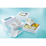 Martha Stewart Crafts - Doily Lace Collection - Treat Boxes with Compartments
