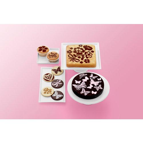 Martha Stewart Crafts - Vintage Girl Collection - Cupcake and Cake Stencils