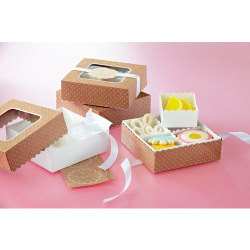Martha Stewart Crafts - Vintage Girl Collection - Treat Boxes with Compartments
