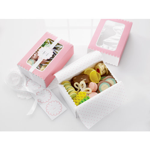 Martha Stewart Crafts - Vintage Girl Collection - Treat Match Boxes
