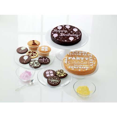 Martha Stewart Crafts - Modern Festive Collection - Cupcake and Cake Stencils