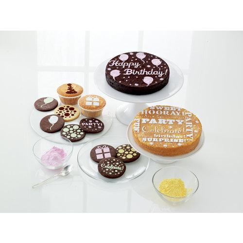 Martha Stewart Crafts - Modern Festive Collection - Cupcake and Cake Stencils