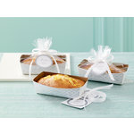 Martha Stewart Crafts - Doily Lace Collection - Loaf Tray and Cellophane Treat Bags