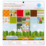 Martha Stewart Crafts - 12 x 12 Designer Paper Pad - Travel