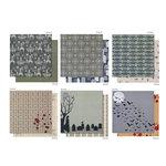 Martha Stewart Crafts - Halloween - 12 x 12 Designer Paper Pad - Vampire