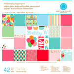 Martha Stewart Crafts - Modern Festive Collection - 12 x 12 Essentials Paper Pad