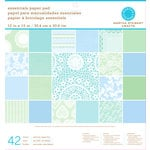 Martha Stewart Crafts - Doily Lace Collection - 12 x 12 Essentials Paper Pad