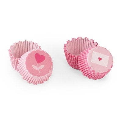 Martha Stewart Crafts - Valentine's Day Collection - Mini Treat Wrappers - Heart