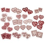 Martha Stewart Crafts - Valentine's Day Collection - Foil Stickers - Hearts