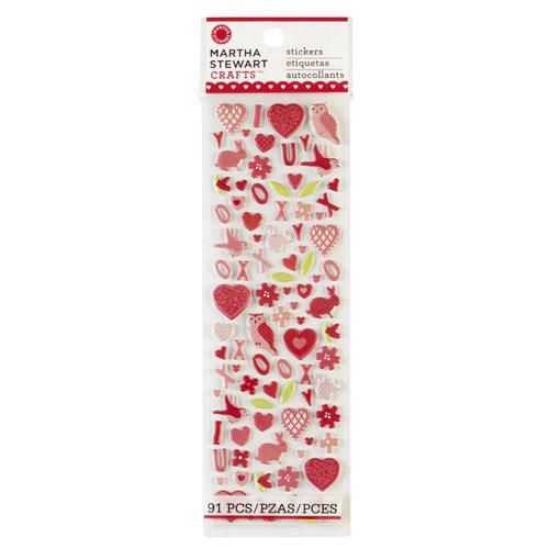 Martha Stewart Crafts - Valentine's Day Collection - Foam Stickers - Icons