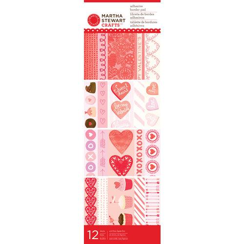 Martha Stewart Crafts - Valentine Collection - Adhesive Border Pad