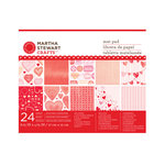 Martha Stewart Crafts - Valentine Collection - Mat Paper Pad