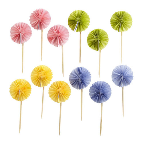 Martha Stewart Crafts - Spring Seasonal Collection - Food Picks - Pom Pom