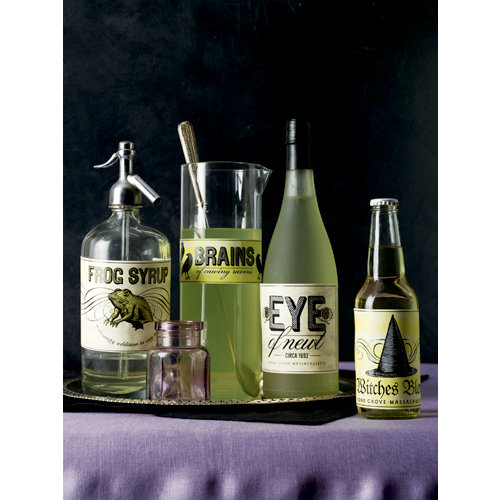 Martha Stewart Crafts - Elegant Witch Collection - Halloween - Food and Beverage Labels