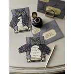 Martha Stewart Crafts - Elegant Witch Collection - Halloween - Party Invitations - Owl
