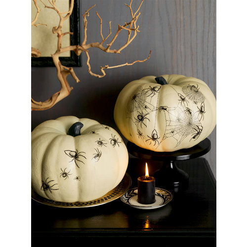 Martha Stewart Crafts - Elegant Witch Collection - Halloween - Pumpkin Transfers