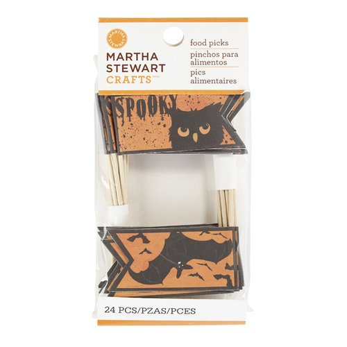 Martha Stewart Crafts - Classic Halloween Collection - Food Picks