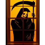 Martha Stewart Crafts - Halloween - Window Clings - Grim Reaper