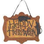 Martha Stewart Crafts - Halloween - Hanging Decor - Happy Halloween
