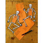 Martha Stewart Crafts - Classic Halloween Collection - Party Invitations - Skeleton