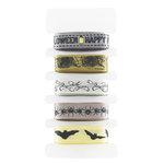 Martha Stewart Crafts - Elegant Witch Collection - Halloween - Decorative Ribbon Pack