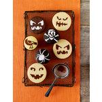 Martha Stewart Crafts - Halloween - Cupcake Stencils - Pumpkin Face