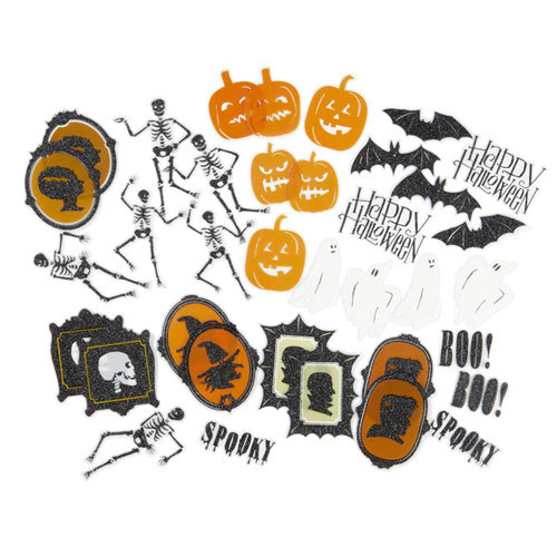 Martha Stewart Crafts - Classic Halloween Collection - Die Cut Acetate Pieces