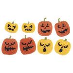 Martha Stewart Crafts - Halloween - Felt Stickers - Pumpkins