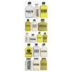 Martha Stewart Crafts - Halloween - Epoxy Stickers - Potion Bottle