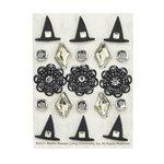 Martha Stewart Crafts - Elegant Witch Collection - Halloween - Brads