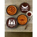 Martha Stewart Crafts - Halloween - Cake Stencils - Halloween Phrase