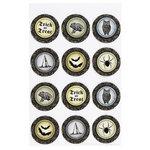 Martha Stewart Crafts - Elegant Witch Collection - Halloween - Layered Stickers