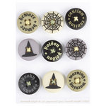 Martha Stewart Crafts - Elegant Witch Collection - Halloween - Buttons