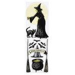 Martha Stewart Crafts - Elegant Witch Collection - Halloween - Stickers - Icon