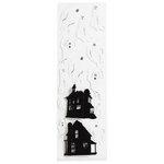 Martha Stewart Crafts - Halloween - Stickers - Haunted House Ghost