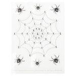 Martha Stewart Crafts - Halloween - Bling - Gemstone Stickers - Spiderweb