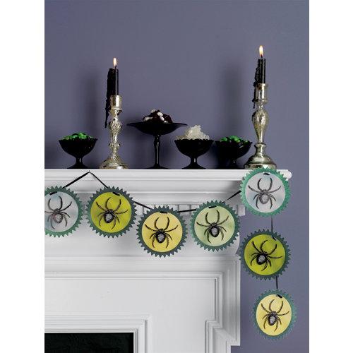 Martha Stewart Crafts - Elegant Witch Collection - Halloween - Garland - Spider