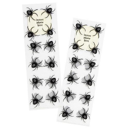 Martha Stewart Crafts - Halloween - Photo Corners - Spider