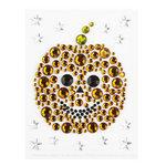 Martha Stewart Crafts - Halloween - Bling - Gemstone Stickers - Pumpkin