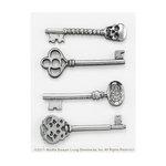 Martha Stewart Crafts - Halloween - Decorative Keys - Skeleton